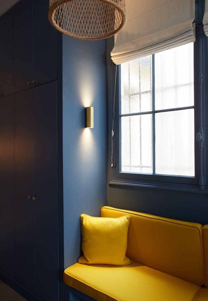 dressing chambre parentale appartement parisien de 320m2 gcg architectes malesherbes. Black Bedroom Furniture Sets. Home Design Ideas