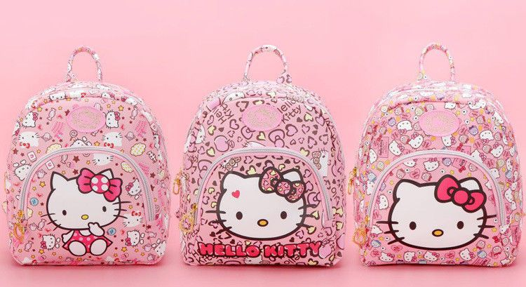4fbea871d Cartoon cute Hello Kitty Backpacks Kids Satchel Children School Bags Girls  Women #Unbranded #ShoulderBag
