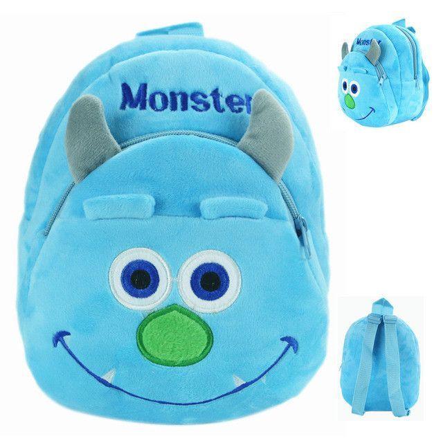 New Plush Minnie Kid Bag Backpack Children School Bag For Girl Boy Student  Schoolbag Baby Cute Mini Bags Mochila Infantil 3479112c54146