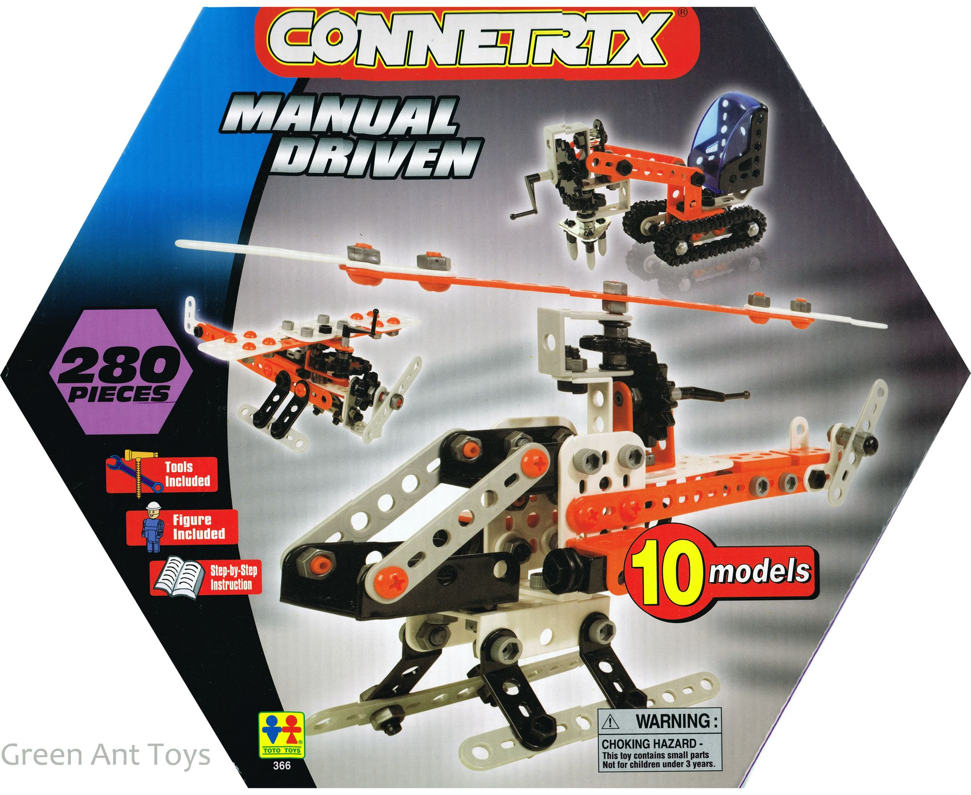 Connetrix Kids Construction Toys Manual Driven From Green Ant Toys