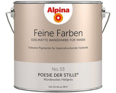 Alpina Feine Farben No. 3 Poesie der Stille edelmatt 2,5 l kaufen bei OBI
