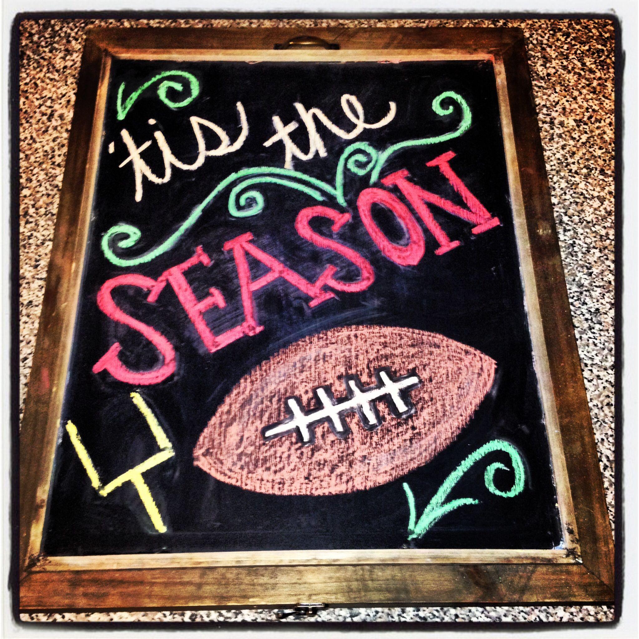 ready for some football chalkboard art pinterest