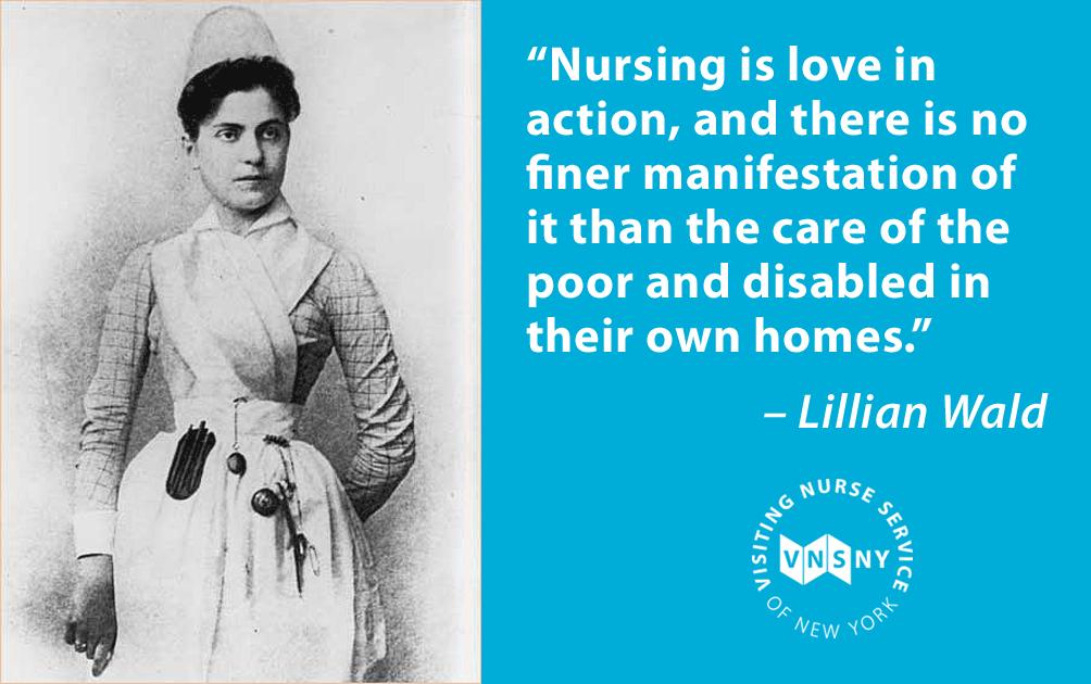 VNSNY History Nursing school prerequisites, Love is an