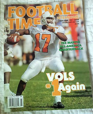 1999 Football Time In Tennessee