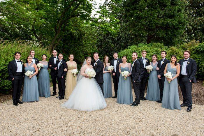 Wedding · slate blue bridesmaid dress ... - Slate Blue Bridesmaid Dress, Long Bridesmaid Dress, Black Tie