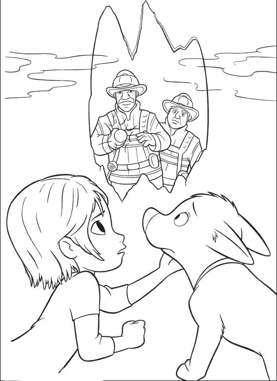 Penny And Bolt Delusional Soldier - Bolt car coloring pages ...