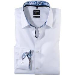 Olymp No. Six Hemd, super slim, Urban Kent, Weiß, 39 Olymp #streetclothing