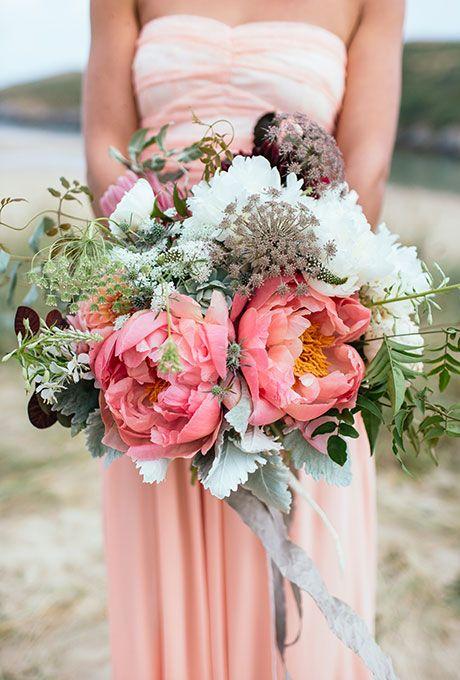 44 Fresh Peony Wedding Bouquet Ideas