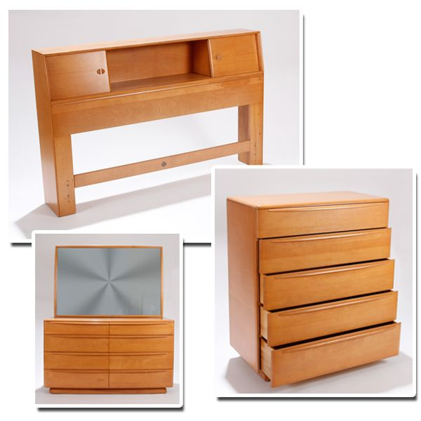 Best Heywood Wakefield Mid Century Modern Bedroom Suite 400 x 300