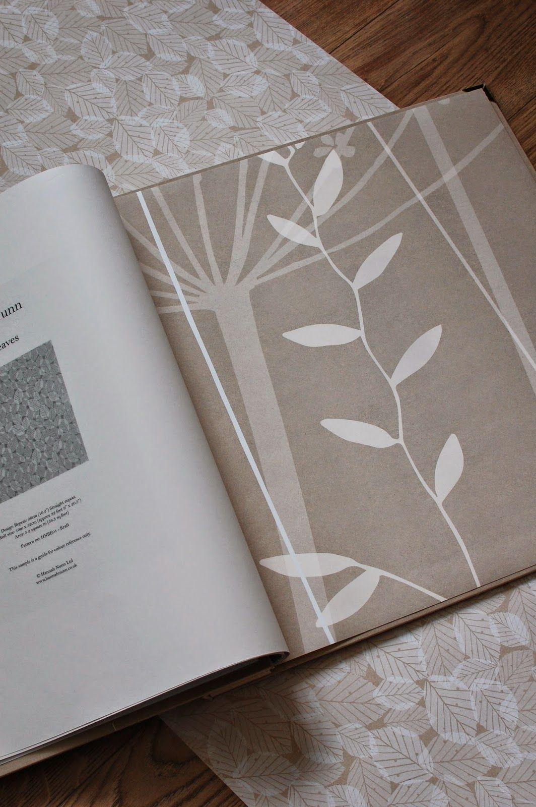 Hannah Nunn Hannah Nunn wallpaper sample books Интерьер