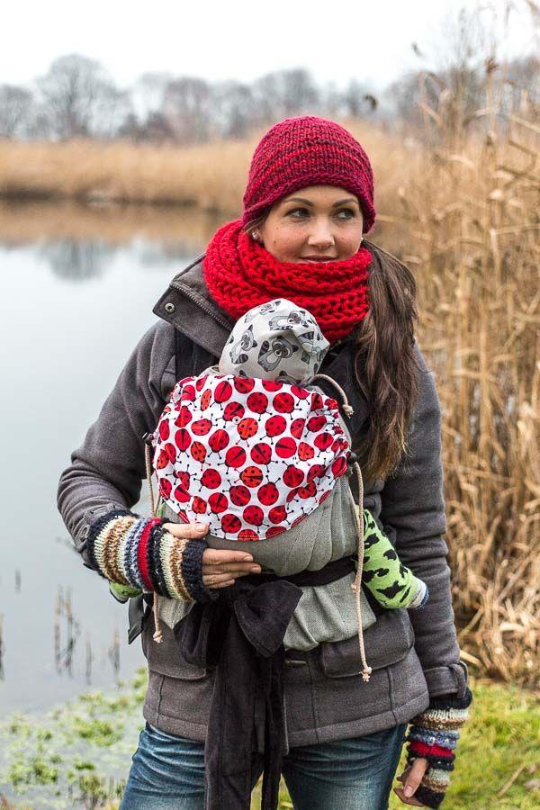 JoNoBaby Babysize, Standard, Toddler | Marienkäfer Grau