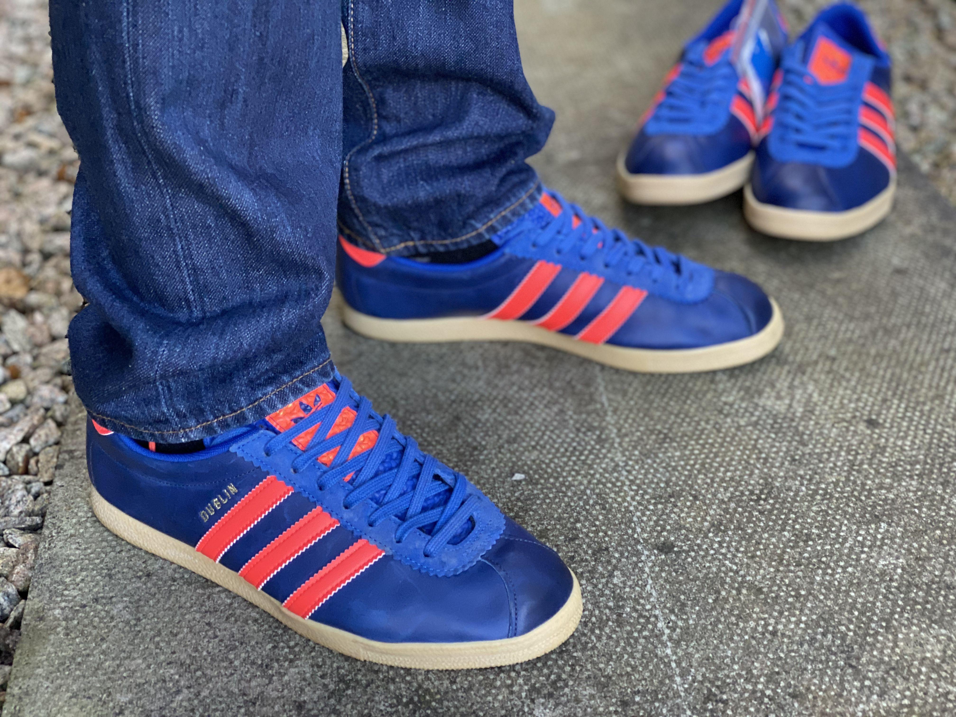 Flojamente raro negativo  Adidas Dublin, 1 of 500 | Adidas, Adidas gazelle sneaker, Adidas trainers