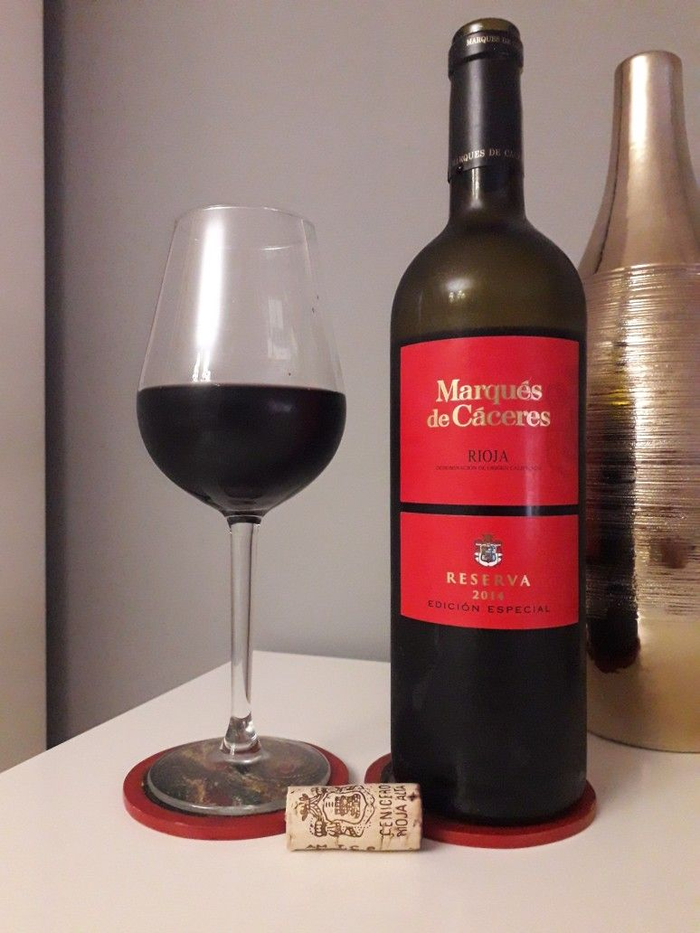 Marqués De Cáceres Reserva 2014 Red Wine Alcohol Wine