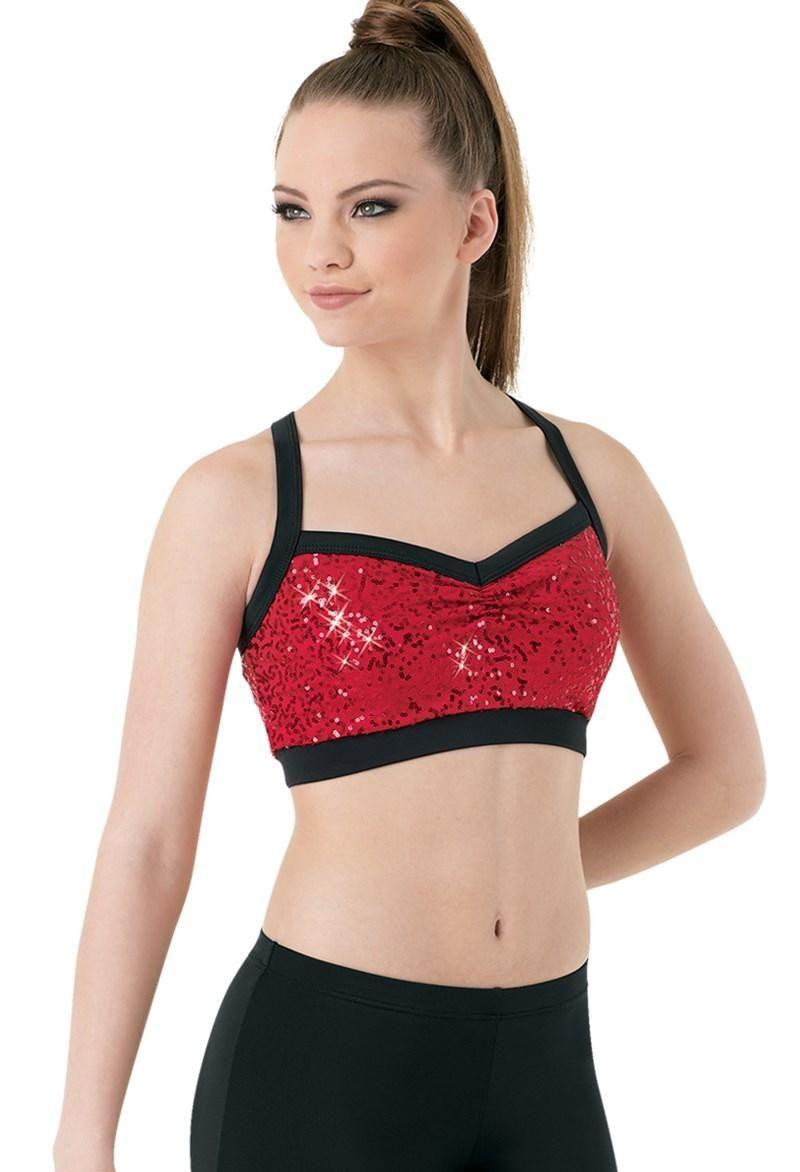 2a883cf4b Dancewear Solutions -  Dancewear Solutions Sequin Bra Top - AdoreWe ...