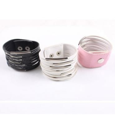 Discount China wholesale Simple Multilayer Cortical Metal Ring Wide Bangle Bracelet [10378] - US$1.49 : chicoffer.com