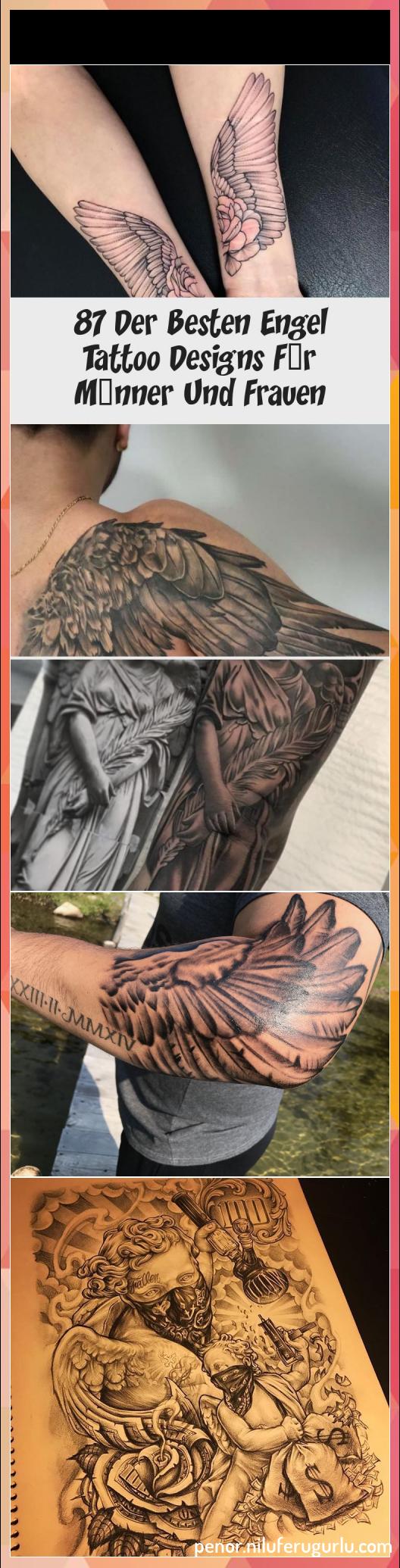 Angel wings men's arm forearm elbow tatt... #Angel #wings #men's #arm #forearm #elbow #tatt...