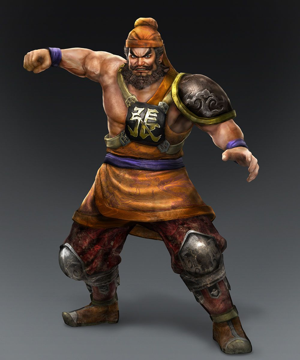 zhang fei dynasty warriors 8 - photo #23
