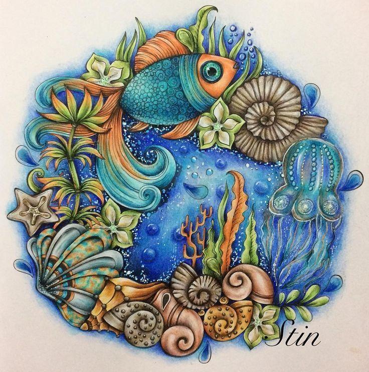 Unterwasserwelt Malen Wand