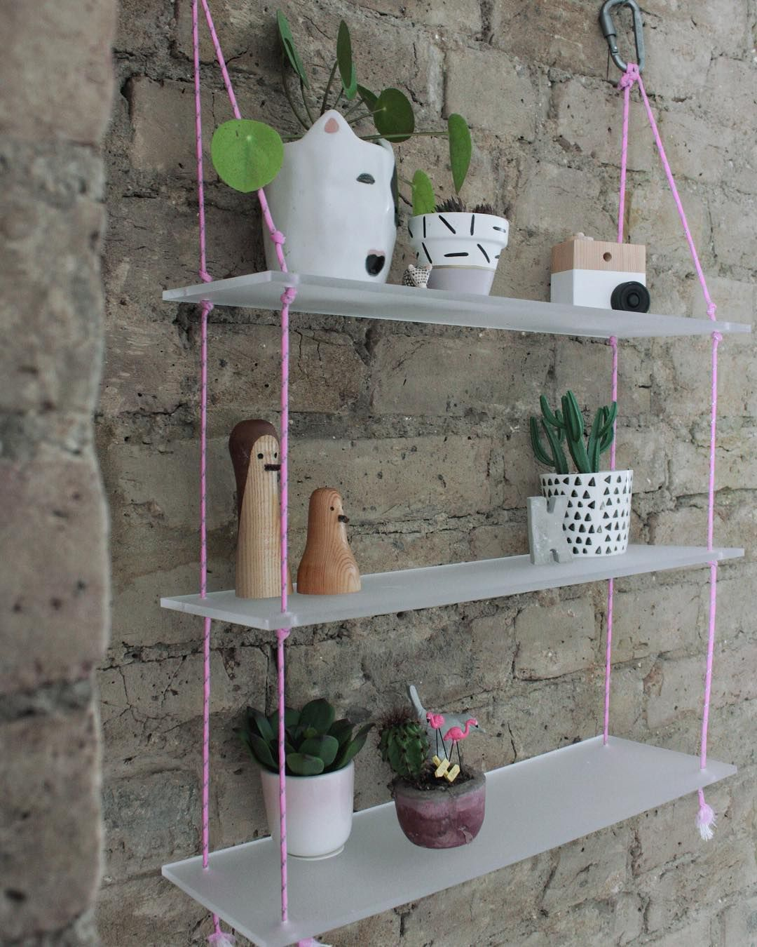 New On The Blog How To Make These Acrylic Sheet And Paracord Rope Shelves When The People From The Plastic Sheets Shop Asked Me To Come Up With A Project Using