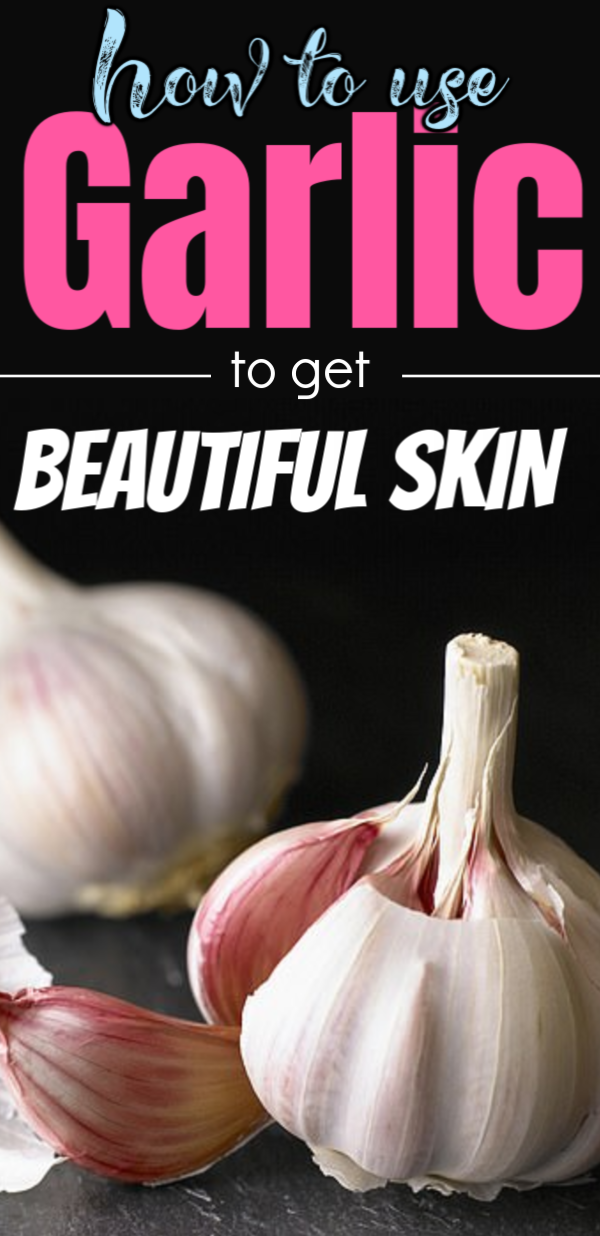 She rubbed fresh garlic on acne, claims onto pimples or whiteheads has instant results She Rubbed F