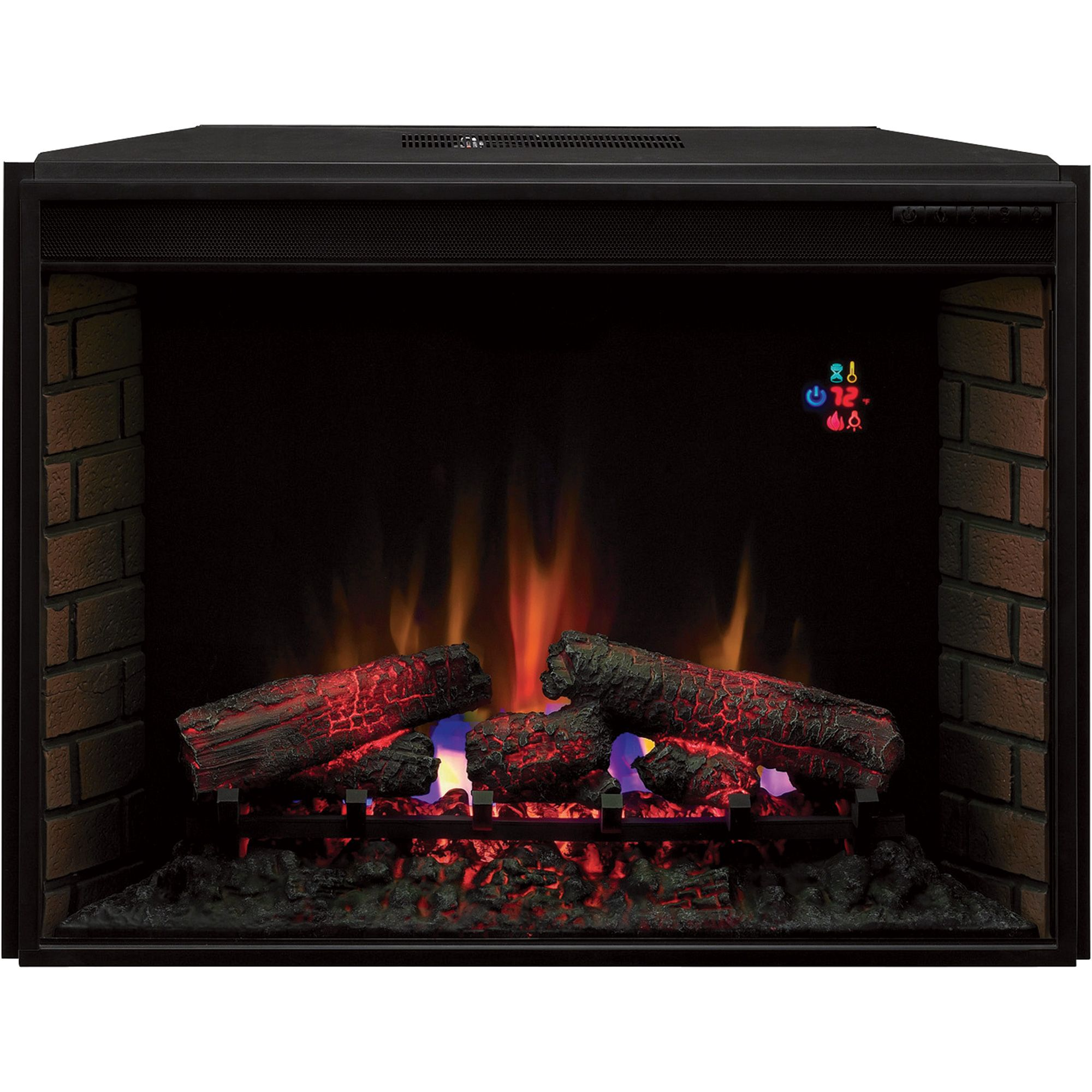 Chimneyfree Vent Free Blue Spectrafire Flame Electric Insert