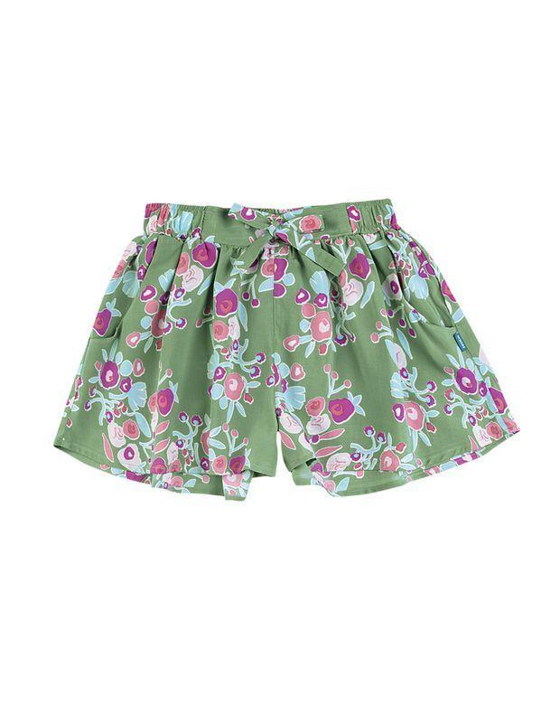7c3864ee4a Shorts Saia Infantil Menina Em Tecido De Viscose