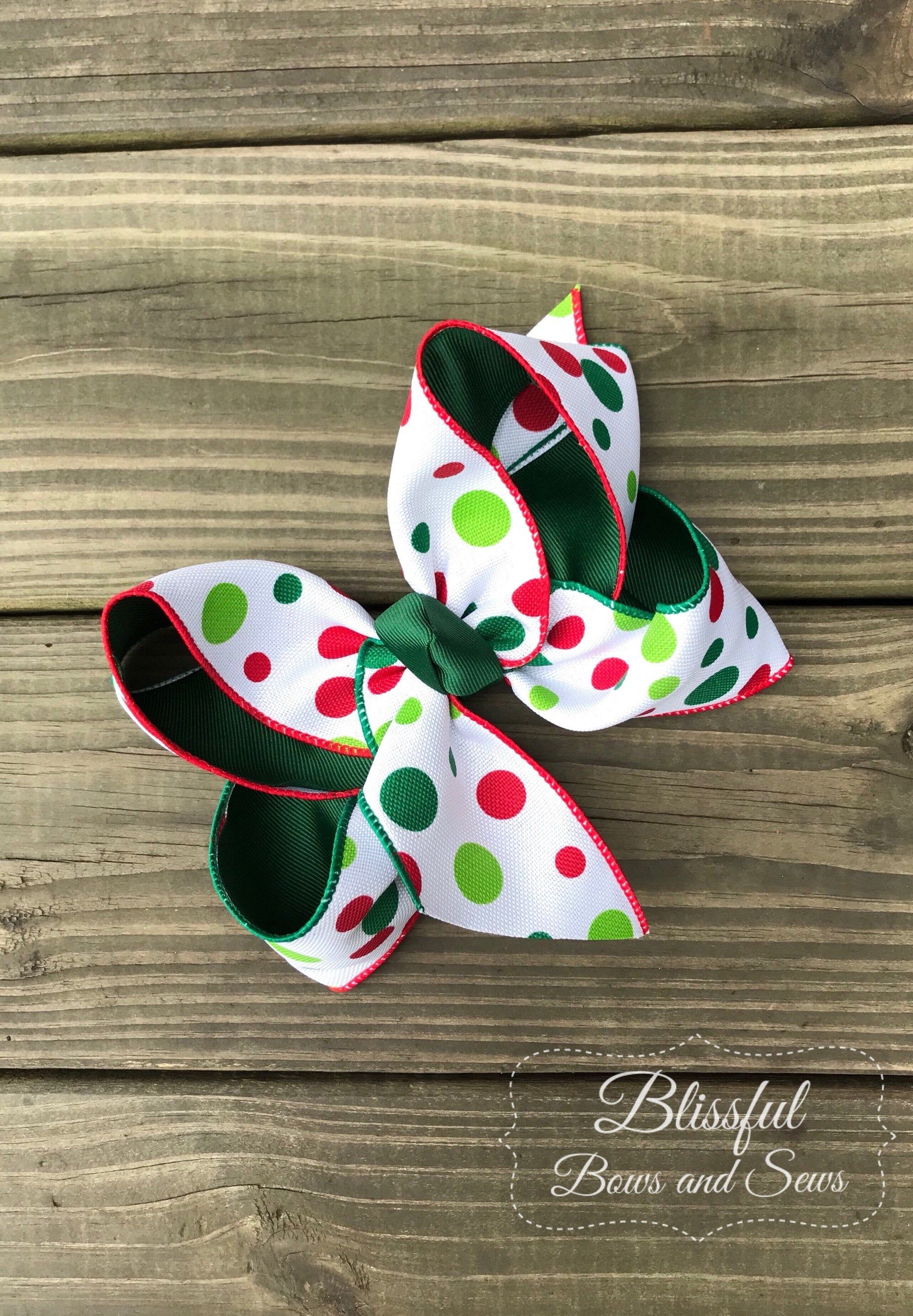 Boutique Hairbow Green Hairbow Multi Colored Hairbow Big Hairbow Big Thanksgiving HairbowFall Hairbow Girls Big Hairbow