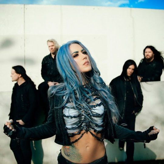 Alissa White Gluz Arch Enemy 2017 With Images Alissa White