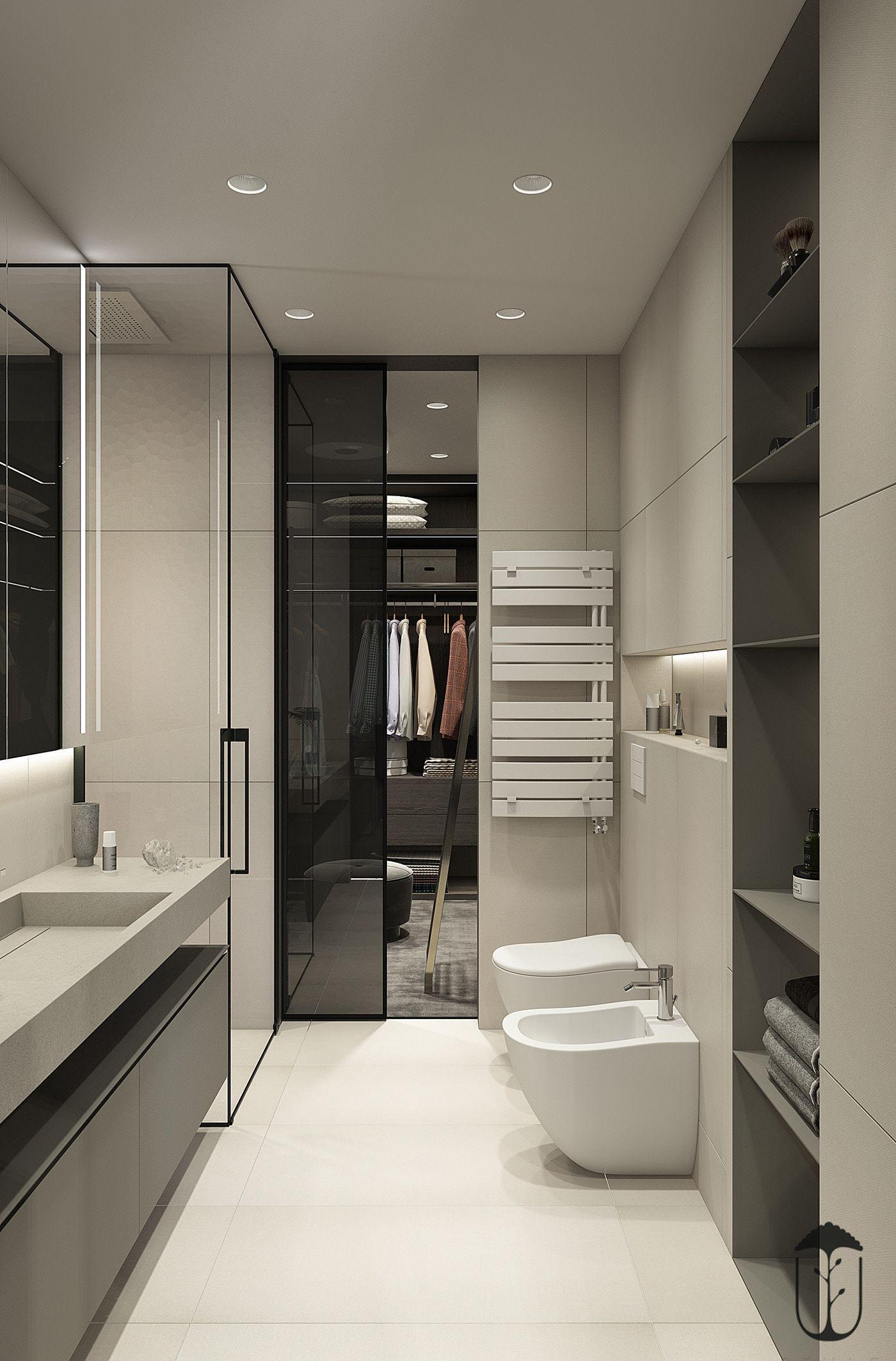 Ui028 On Behance Modern Homes In 2019 Bathroom Interior Design Bathroom Interior Bathroom Interior Design Modern Bathroom Design