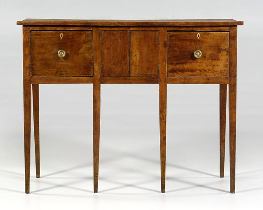Georgia Huntboard, Circa 1820 1840 $29,900
