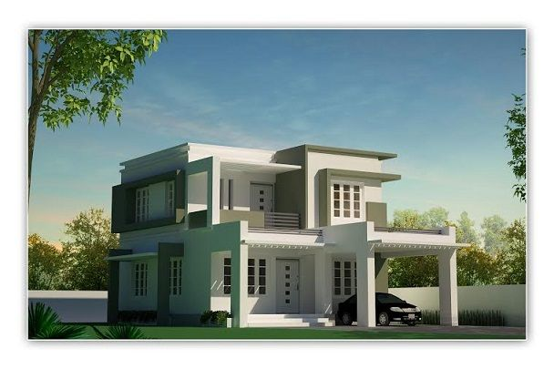 4 Cent Plan 25 Lakhs House Design House Styles Contemporary