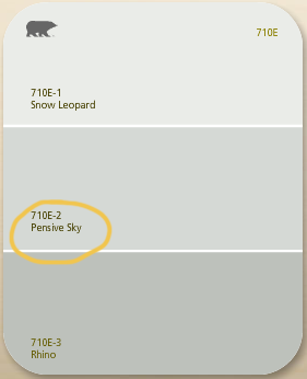 Pensive Sky Love It Goes Great With Ivory And Gold Silver Sage Paint Bedroom Paint Colors Master Behr Paint Colors