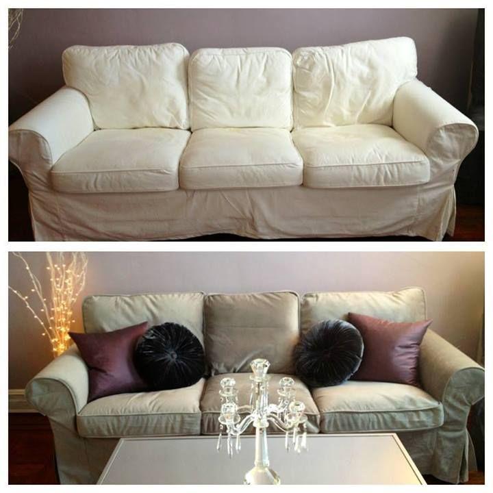 Ektorp 3 Seater Sofa Cover Sofa Covers Yellow Sofa
