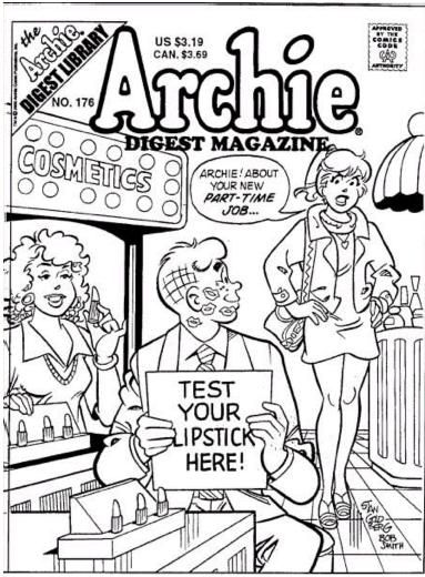 Coloring Page, Archie Comic Publications, Inc. https://www.pinterest ...