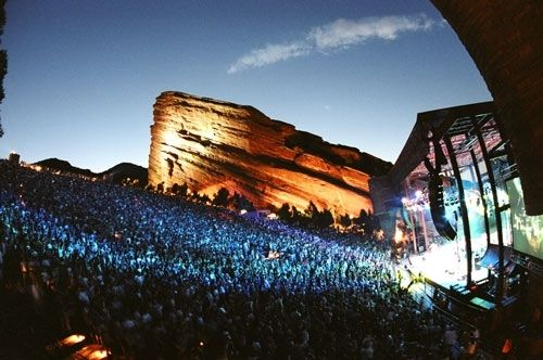 Red Rocks Amphitheater - Music lover's delight..unique experience you can't miss