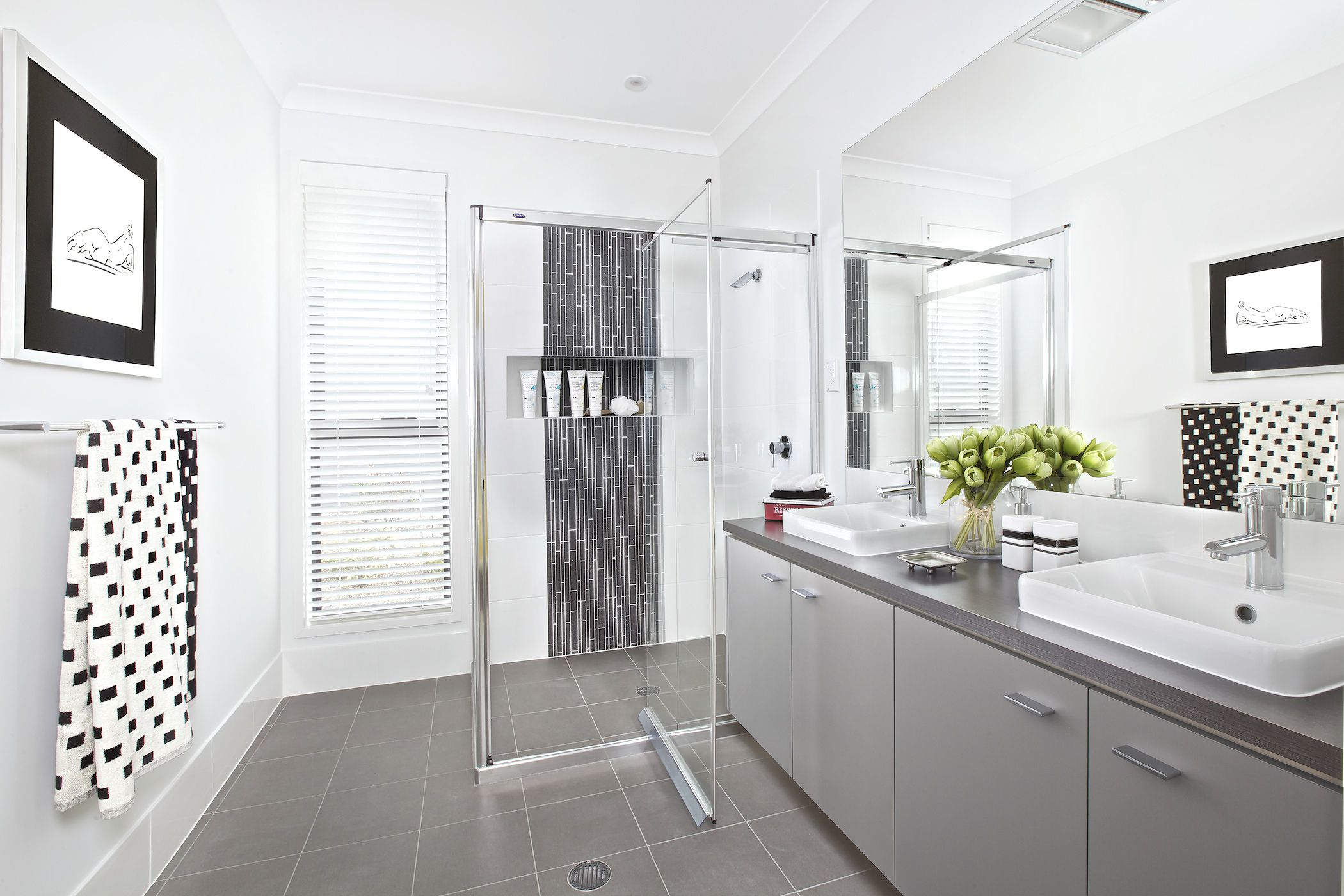 Clarendon Homes. Ascot 32. Bathroom.   Beautiful Bathrooms   Pinterest