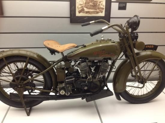 Harley-Davidson Museum: Early 1900s Harley