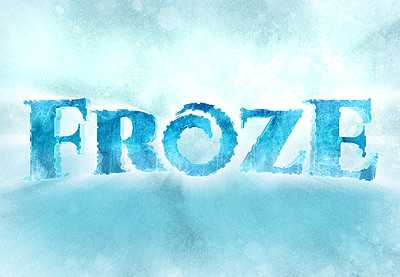 How to Create a Disney Frozen Inspired Text Effect in ...