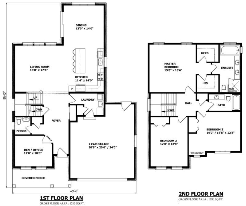 CALGARY FLOOR PLAN House plans, Floor plans, Plan canada