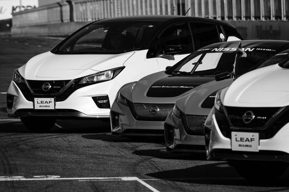 The Nissan Leaf Family Includes The Nissan Leaf Leaf Plus And Leaf Nismo Rc The Leaf Nismo Rc Shares The Same Drivetrain Nissan Leaf Nissan Nissan Electric