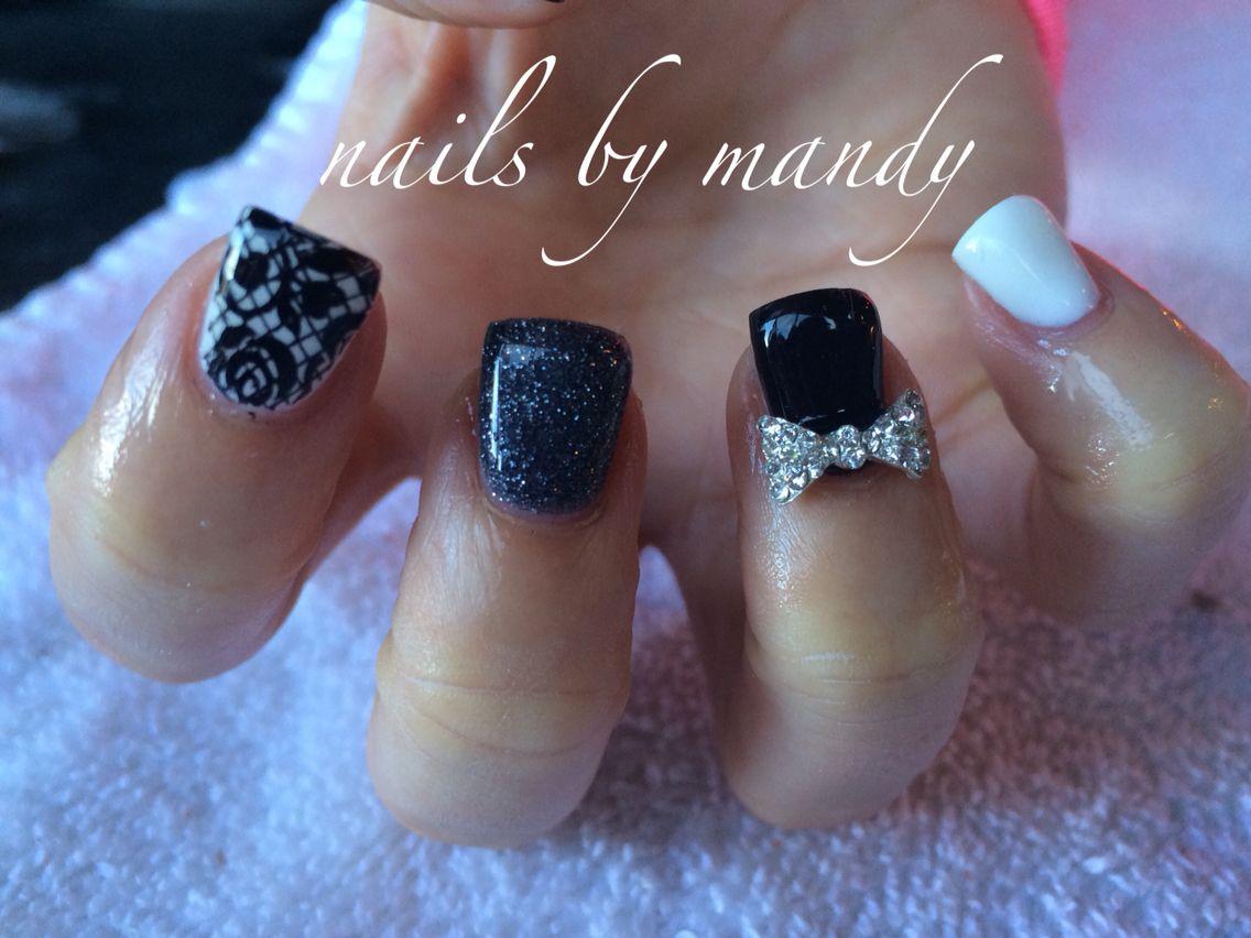 Fancy gel nails | Nails I\'ve done | Pinterest