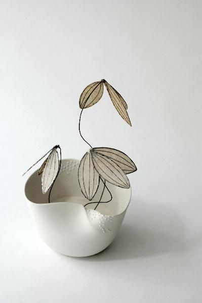 cl mentine dupr isabelle bonte fleur ceramics i love pinterest clay pottery and. Black Bedroom Furniture Sets. Home Design Ideas