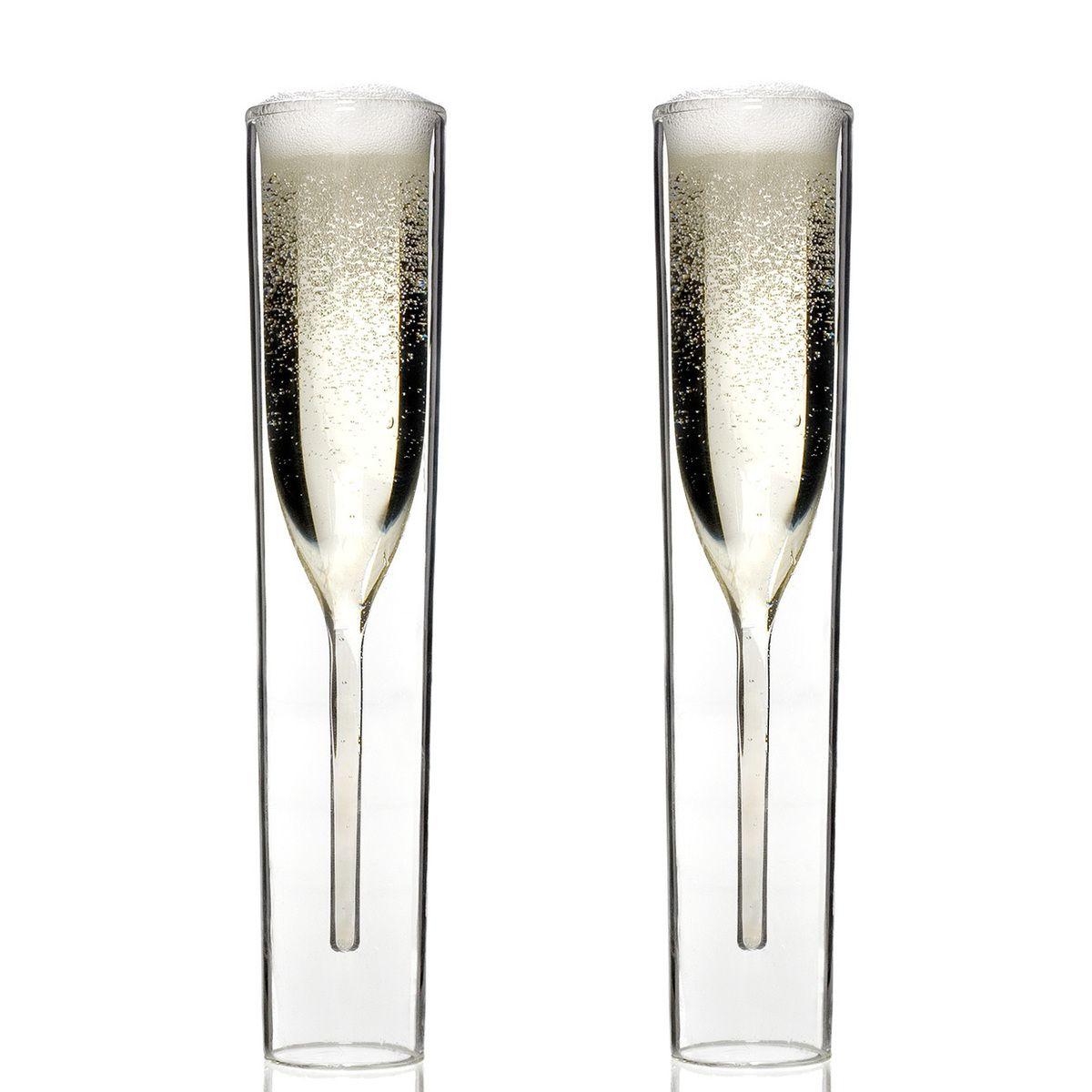 Glasses Glass Set Contemporary Champagne Flutes Champagne