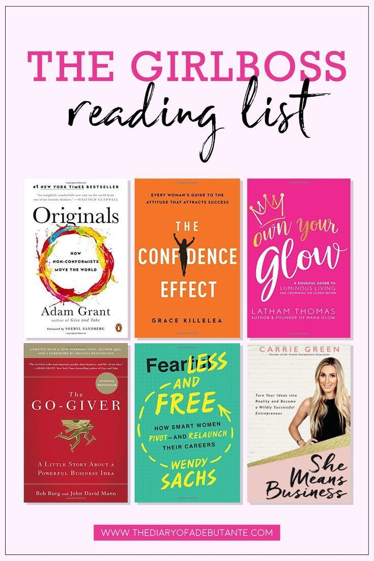 18 of the Best Business Books for Women in 2018