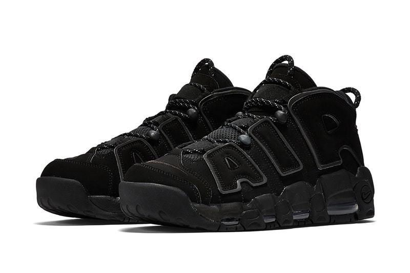 117d0c2582e ... cheap nike air more uptempo triple black incognito sizes 13 15 new mens  nike athleticsneakers e7587