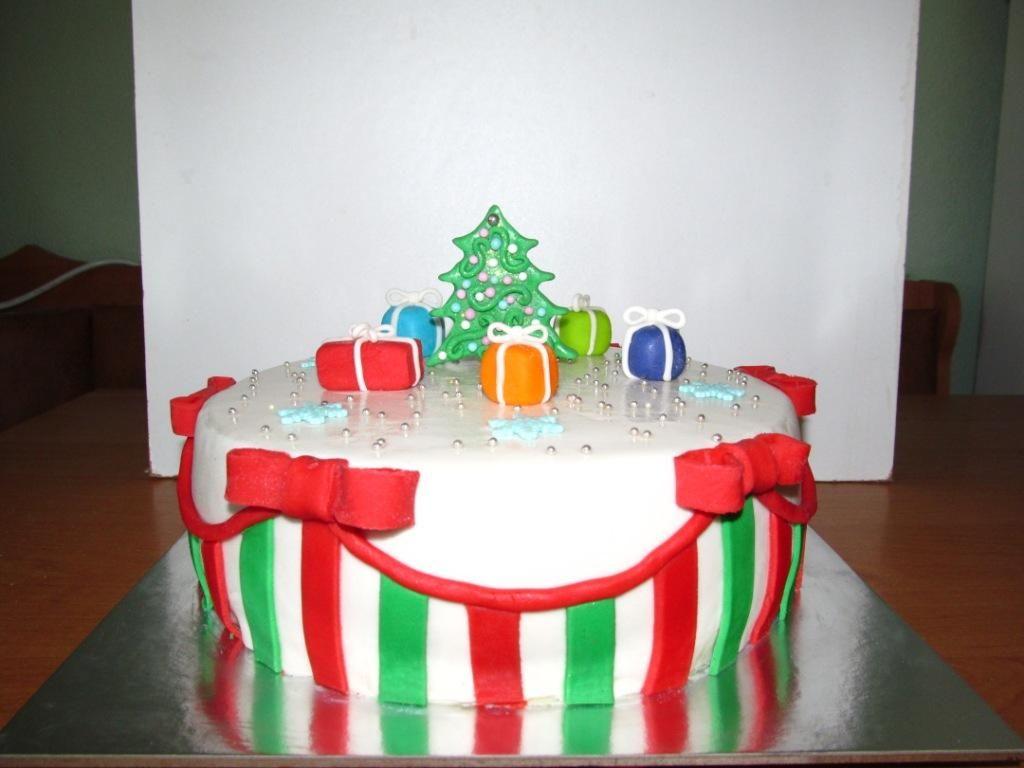 новый год #торт_на_заказ_днепродзержинск #новогодние # ...