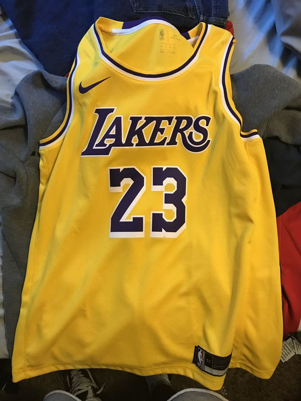 buy popular 247b6 32a6c Nike Lebron Laker Jersey | Products in 2019 | Nike lebron ...