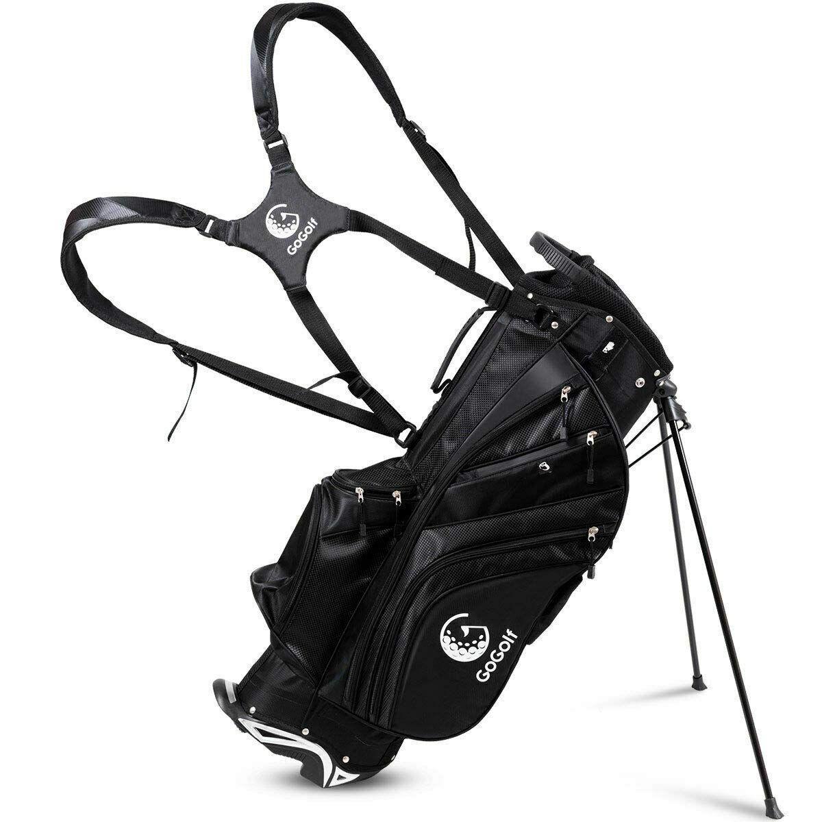 Tangkula Golf Stand Bag, Lightweight and LargeCapacity