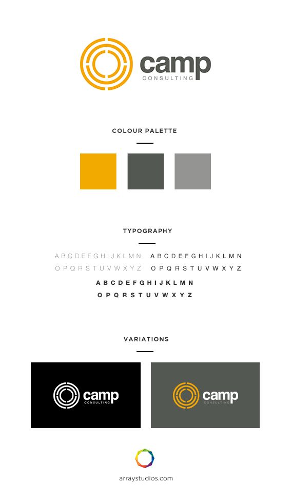 Branding Camp Consulting Array Web Creative Nanaimo Bc Branding Design Creative Agency Inspiration Design Development Branding Typography
