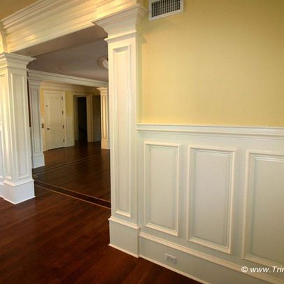Shadow Box Wall Molding Wainscot And Picture Frames